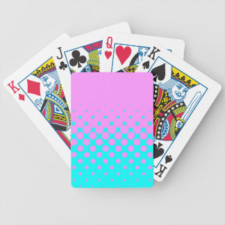 Pink to Blue Bicycle Playing Cards