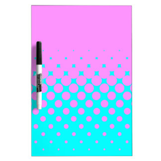 Pink to Blue Dry Erase Board