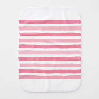 Pink to summer burp cloth