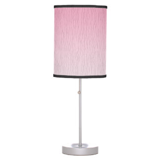 Pink to White Shade Table Lamp