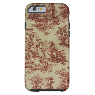 Pink Toile Tough iPhone 6 Case