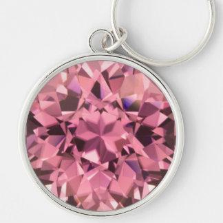 Pink Tourmaline 2 Keychain