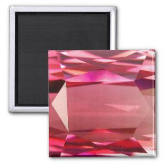 Pink Tourmaline 4 Magnet