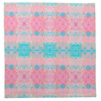 pink towel napkin