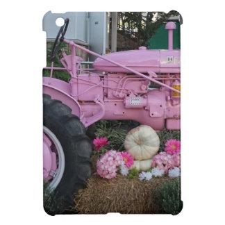 Pink Tractor iPad Mini Cases