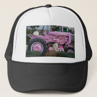 Pink Tractor Trucker Hat