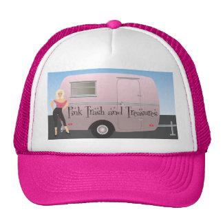 Pink Trash and Treasures logo Trucker Hat