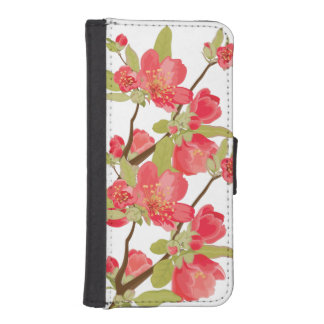 Pink Tree Blossom iPhone Wallet Case