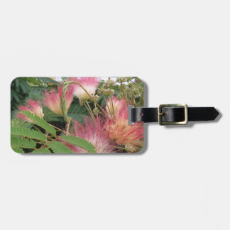 Pink Tree Blossom Luggage Tag