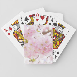 Pink Tree Cherry Flower Poker Deck