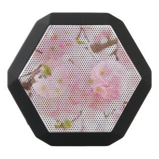 Pink Tree Sakura Cherry Blossom Black Bluetooth Speaker