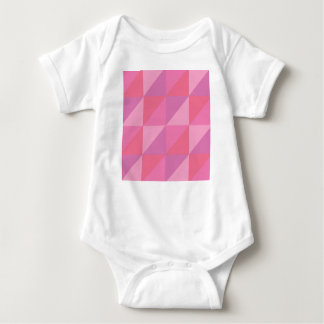 Pink Triangles Baby Bodysuit