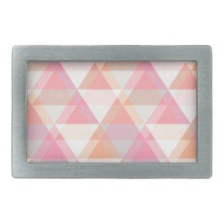 Pink Triangles Belt Buckle