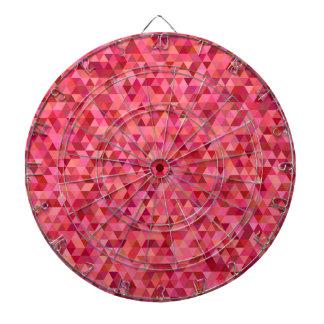Pink Triangles Dartboard