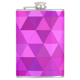 Pink triangles flask