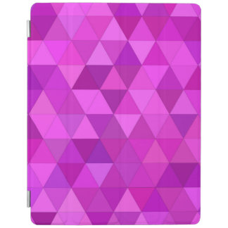 Pink triangles iPad cover