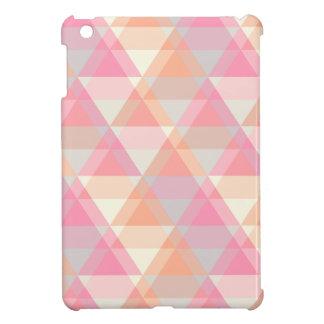 Pink Triangles iPad Mini Cases