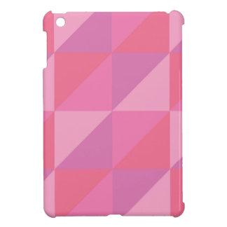 Pink Triangles iPad Mini Covers