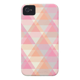 Pink Triangles iPhone 4 Case-Mate Cases
