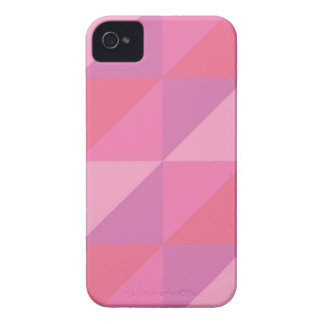 Pink Triangles iPhone 4 Cover