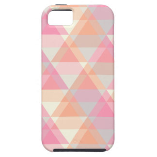 Pink Triangles iPhone 5 Cover