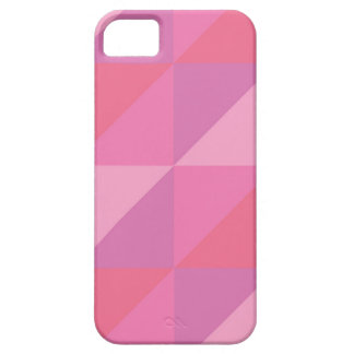 Pink Triangles iPhone 5 Covers