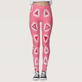 PINK TRIANGLES LEGGINGS