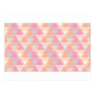 Pink Triangles Postcard