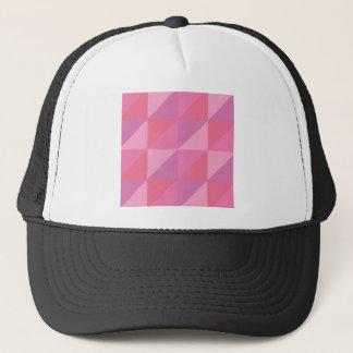 Pink Triangles Trucker Hat