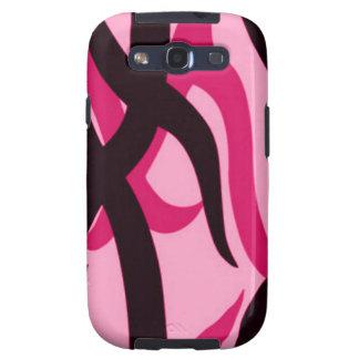 Pink Tribal Camo Samsung Galaxy S Phone Case Galaxy SIII Cases