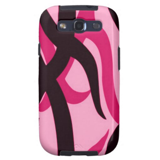 Pink Tribal Camo Samsung Galaxy S Phone Case Galaxy SIII Cases