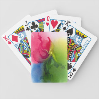 Pink Triflower Playing Cards