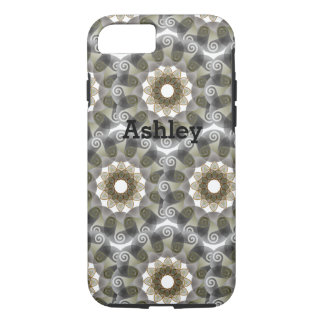 Pink Triskele celtic iPhone 8/7 Case