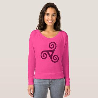 Pink Triskele celtic T-shirt
