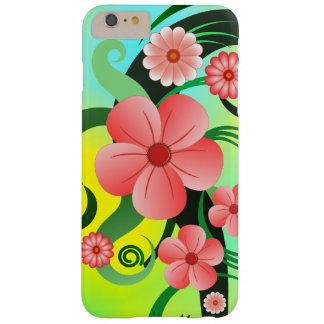 Pink Tropical Hibiscus Floral Slim iPhone6 6S Plus Barely There iPhone 6 Plus Case