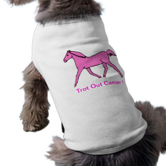 Pink Trotting Horse Dog Clothes
