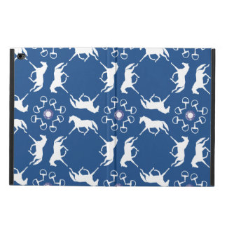Pink Trotting Horses and Bits Pattern Powis iPad Air 2 Case