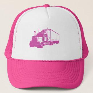 Pink Truck Trucker Hat