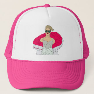 Pink Trucker Hat