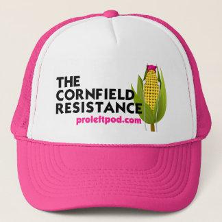 Pink Trucker Hat - The Cornfield Resistance