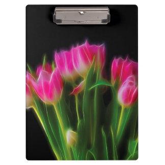 Pink Tulip Clipboard