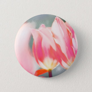 Pink Tulip Duo Sketch 2 Inch Round Button
