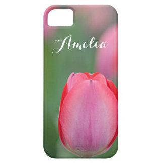 Pink tulip iPhone 5 cases