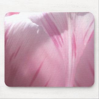 Pink Tulip Petal Mousepad