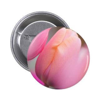 Pink Tulips 2 Inch Round Button