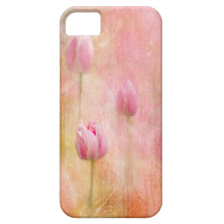 Pink Tulips Case For The iPhone 5