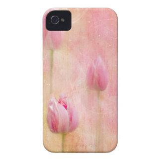 Pink Tulips Case-Mate iPhone 4 Cases