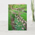 Pink Tulips Dear Friend Happy Birthday Card