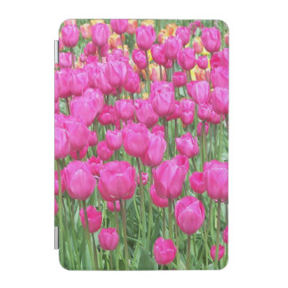 Pink Tulips Floral iPad Mini Cover