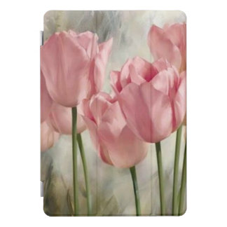Pink Tulips iPad Pro Cover